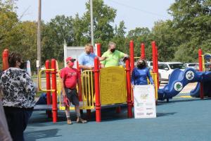 New Playground at Freeburg Rec. Park