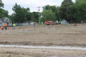 Smithton School building started