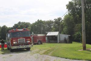 Hog Barn Fire